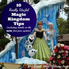10 {really useful} Disney Magic Kingdom Tips... including info on the NEW fast pass system