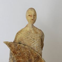 The man who sold the moon Ceramic Sculpture Unique by arekszwed