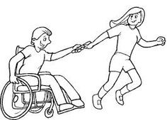 Image result for disability logo black and white fun