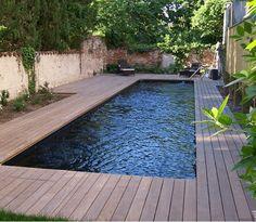 Réalisation de piscine bois Bluewood