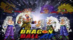 Goku AF Transformations (Sprite Animation) SSJ-SSJ 5