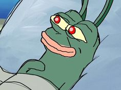 This is a super rare pepe. This is the peplankton. The peplankton is related to the pepeward.