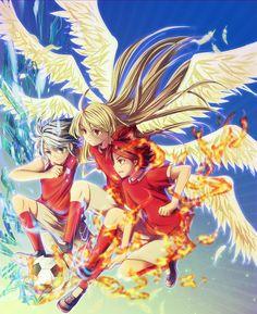 Inazuma Eleven GO Image - Zerochan Anime Image Board Dragon Ball, Fire Dragon, Otaku, Dragons, Byron Love, Litle Boy, Anime Backgrounds Wallpapers, Inazuma Eleven Go, Cartoon Games