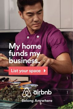 Extra room? Extra house? The options for hosting on Airbnb are endless but the result is the same: extra income just by sharing what you already have. Find ways to fund your next passion by hosting on Airbnb today. Save Money DIY #DIY - Get $25 credit with Airbnb if you sign up with this link http://www.airbnb.com/c/groberts22