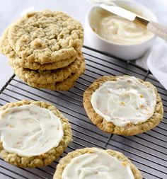 Chewy Orange Cookies