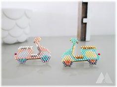 """Idée de grille pour bracelets perles """"dolceVita"""" - www.monpetitbazar.fr"""
