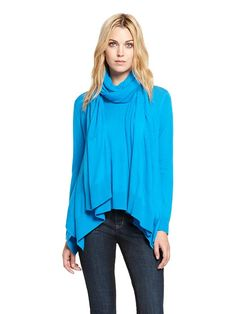 Scoopneck Trapeze Pullover - DKNY