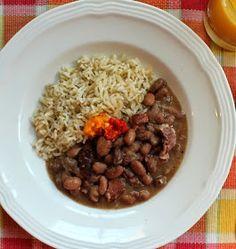 Food Lust People Love: Crockpot Borlotti Beans with Smoked Pork