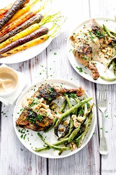 Easy Mustard Chicken with Creamy Walnut Sauce | The Endless Meal