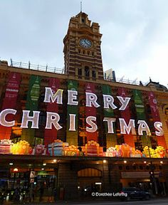 Christmas decoration Melbourne Victoria