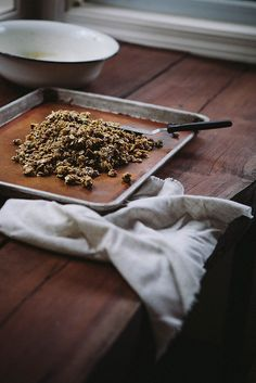 Poppy Seed, Pistachio & Pecan Granola / Always With Butter