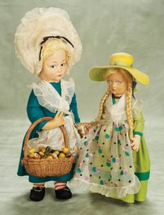 Other People's Lives: 418 Italian Cloth Character Doll by Lenci