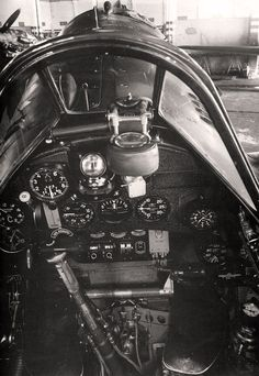 cockpit of a MC202 BFD
