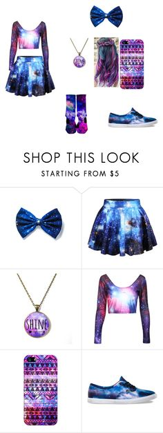 """""""GALAXY"""" by closandmoreclose on Polyvore featuring Casetify and Vans"""