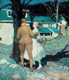 Home on Leave (Henry J. Soulen)