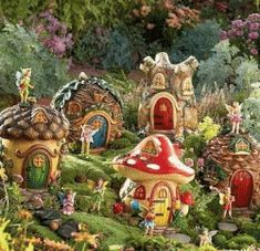 Fairy Garden Design Ideas 17 best 1000 images about fairy gardens on pinterest gardens tire Fairy Garden Plants And Ideas