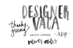 Lettering | Eva Black Design