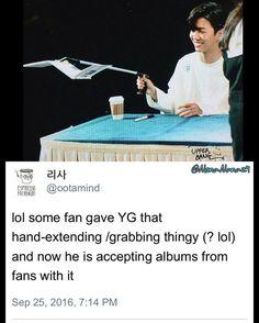 Yongguk being the child he is ❤️ #bap #yongguk