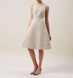Beige Tara Dress | Smart Dresses | Dresses | Hobbs