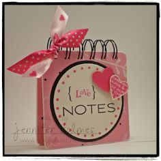 Spotted this cute mini at: http://www.simpleflourishes.com/2009/02/love-notes.html