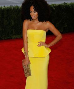 On Trend: Naturally Coily Celebrities - Solange Knowles