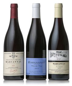Inviting readers to taste one of the more moderately priced Burgundies: Marsannay