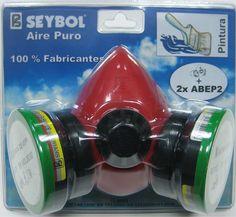 SIBOL Halbmaske RESPIR II (Standard) + 2 Filter | R & G Faserverbundwerkstoffe GmbH