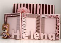 passo a passo; PAP; COMO FAZER; TUTORIAL; bolsa carteira; tulipa; forrar mdf; porta retrato; cartao 3D; botao forrado; capa multiuso; móbile; bolsa; sachê; flores feltro; rosa tecido; faixa cabelo; letra MDF; aplique, fitas;cachos de feltro, naninha, cachos de feltro, feltro recheado com EVA Cardboard Paper, Cardboard Crafts, Paper Crafts, Cardboard Picture Frames, Marco Diy, Foto Frame, Diy And Crafts, Crafts For Kids, Card Book