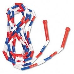 Plastic Bead jump rope from the 1970s... My grandma still had these in the 90s and that's all there was to do at her house