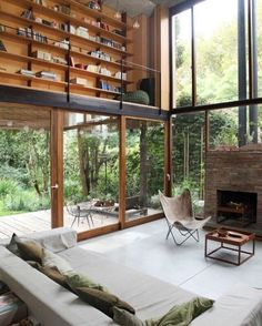 The perfect getaway home: Casa Olivos, Buenos Aires. Owned by architect…