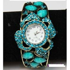 Reloj-mujer-con-pedreria-swarovski-en-azul
