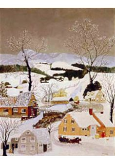 Visit the Chazen Museum of Art. Christmas Pictures, Christmas Art, Christmas Ideas, Museum Shop, Art Museum, Weather Art, Grandma Moses, Old Wall, Cycle 3