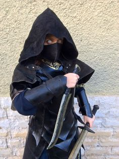 NIGHTINGALE LEATHER ARMOR - Complete Set Larp