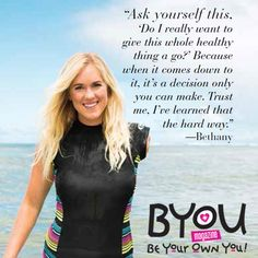 We just adore professional surfer Bethany Hamilton! Check out her story in BYOU Magazine: https://www.byoumagazine.com/bethany-hamilton-cover/