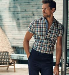 Men's casual style | Marks & Spencer Spring/Summer 2016 | David Gandy