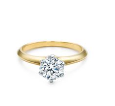 Tiffany & Co. | Engagement Rings | The Tiffany® Setting 18K Yellow Gold | Canada