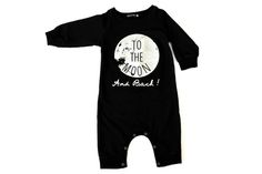 Image of TO THE MOON ROMPER