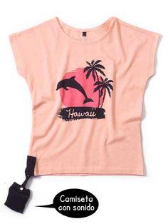Camiseta CON SONIDO Delfines