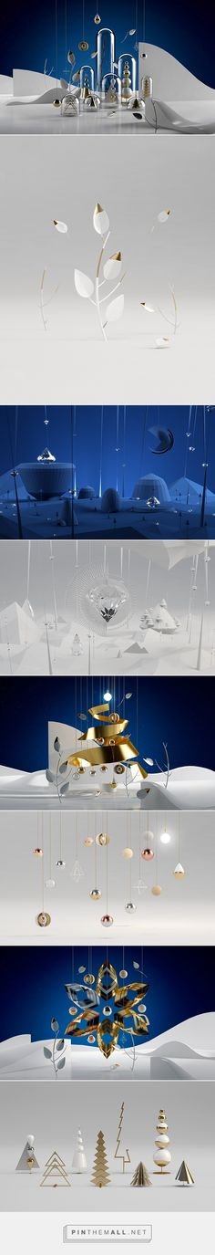 December Update on Behance... - a grouped images picture - Pin Them All
