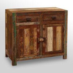 Classic Home. Vintage two drawer twoo door  sideboard.