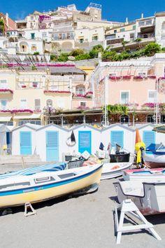 Colorful vibes on the Amalfi Coast.