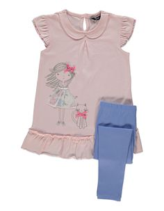 Frill Top and Leggings Set | Kids | George at ASDA