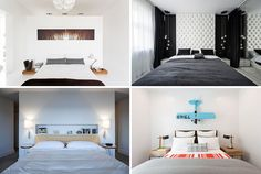 Bedroom Design Ideas - 8 Ways To Decorate The Wall Above Your Bed | CONTEMPORIST