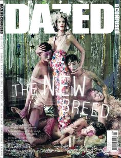 COVER The Tribes Issue Highlight Description MAY Catherine McNeil Noma Han and Sung Jin Park shot by Jeff Bark; Styled by Robbie Spencer. Catherine Mcneil, Fashion Magazine Cover, Fashion Cover, Magazine Covers, Dazed And Confused, Dazed Magazine, The Libertines, Campaign Fashion, Editorial Fashion