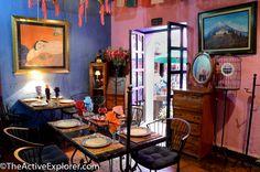 Boutique Hotel in Puebla. Mesones Sacristía de la Compañía. Dining Room. @Active_Explorer