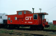 Grand Trunk Railroad Caboose No. 75961 at Portland, ME