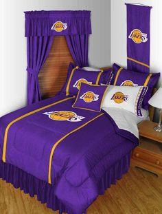 Los Angeles Lakers NBA comforter. #lakers #comforters