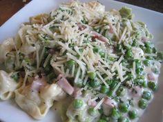Mrs. Schwartz's Kitchen: Tortellini Straw and Hay