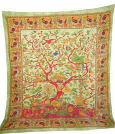 Tree Of Life Hippie Hippy #Tapestry, Throw Bed Decor Sheet Wall Hangings Ethnic  Free International Shipping  Type:Wall Hanging / Tapestry / Bedcover  Shop Now: http://ebay.to/1y1E9Lt