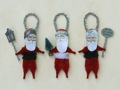 Christmas Ornaments Chenille Ornaments